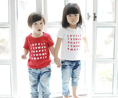 ハッピーパーティー円形の赤ちゃんショートTシャツ_13B07