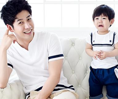 セーラー家族パパと赤ちゃんショートTシャツ_15B16