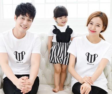 ミニ家族ショートTシャツ_15B28