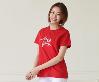 フライング円形の女性ショートTシャツ_15B20