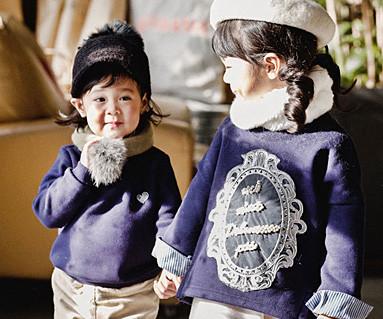 起毛ロイヤルダンディ赤ちゃん長袖_16D03