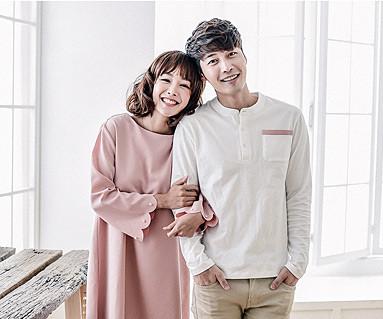 ロマンチックカップル長袖_16C17