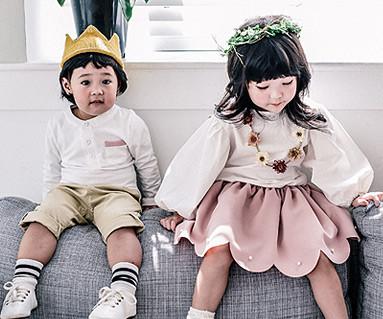 ロマンチックファミリー赤ちゃん長袖_16C17