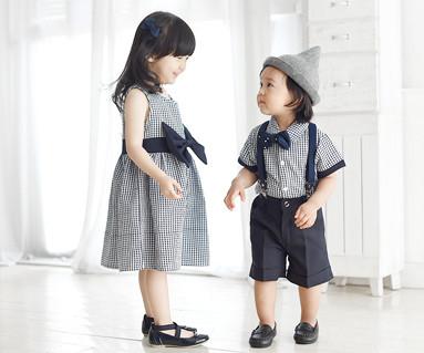 ロイヤルガーデン家族、赤ちゃんショートTシャツ_16B06