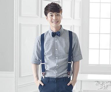 ロイヤルガーデン男性ショートTシャツ_16B06