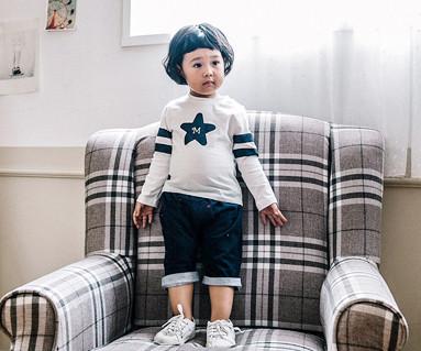 ルーキールコ子供7部パンツ赤ちゃん_16C02