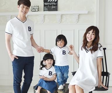 サマースクール家族ショートTシャツ_16B11