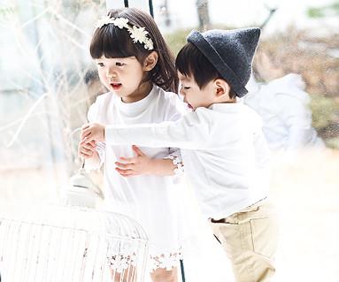 モーニング家族赤ちゃん長袖_15A11