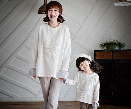ロイヤルダンディママと赤ちゃんの長袖_17A10