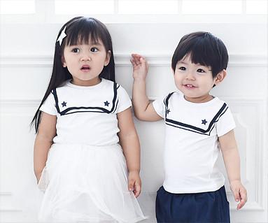 セーラー赤ちゃんショートTシャツ_15B16K