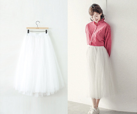 女性バレエスカート18A35 /ビッグサイズの服、女性の服