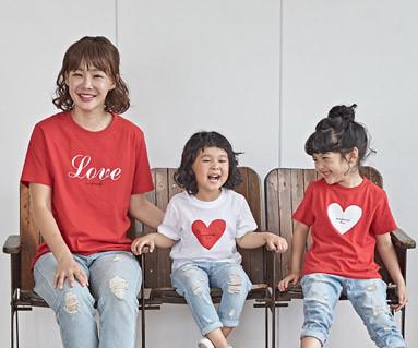 """<font color=""""ffffff"""">[家族ショートTシャツティー&ファミリールック] <br></font>コークラブママと赤ちゃんショートTシャツ_18B25"""